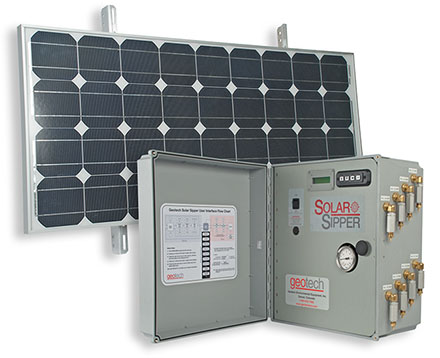 Controller/Pump and Solar Panel